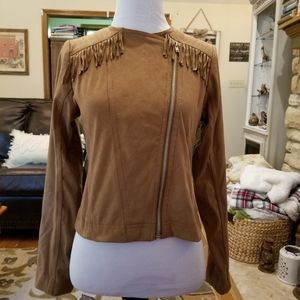Justice Girl's Asymmetrical Jacket
